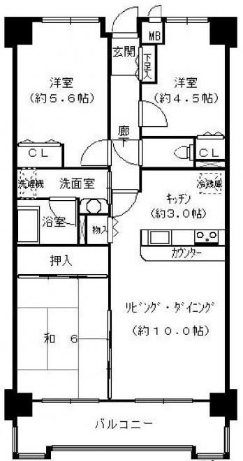 コスモ東大阪 図面