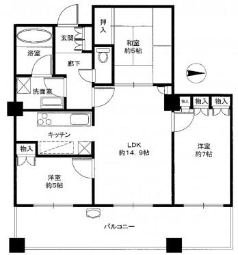 ザ・香里園タワー 図面