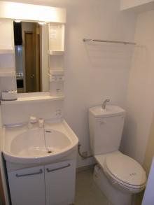 新大阪第2ダイヤモンドマンション905 洗面トイレ