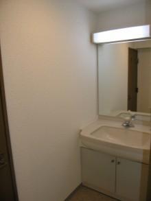 パークヒルズくすのき中央404号室 洗面