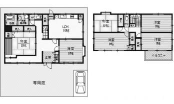 堺市新檜尾台 図面