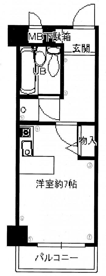 ダイアパレス塚本2番館