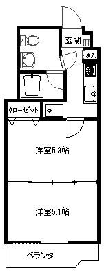 新大阪第2ダイヤモンドマンション905 図面